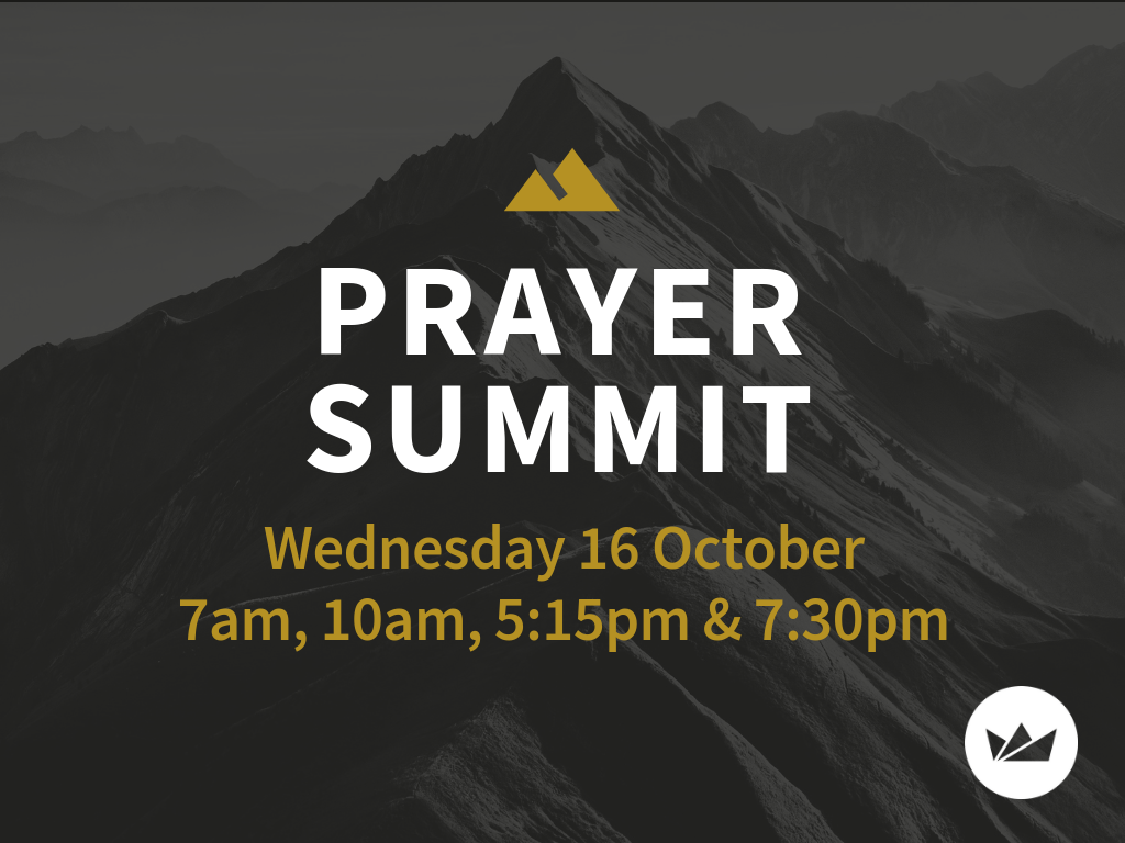 Prayer Summit meeting at Wollongong Anglican