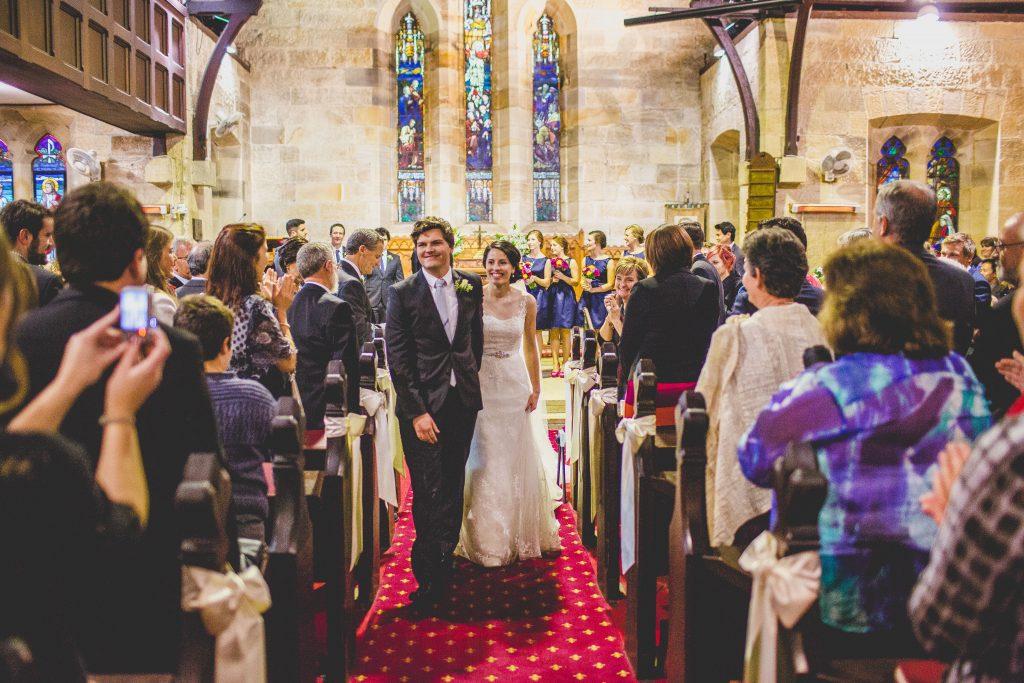 wedding photo Evoke company at St Michael's