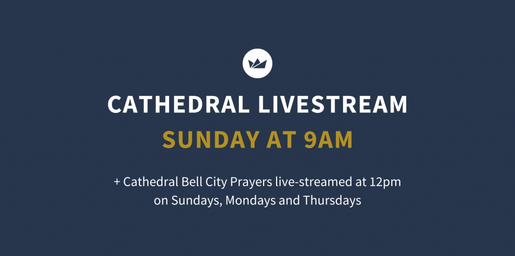 Cathedral Facebook livestream Sunday 9am St Michael's Wollongong