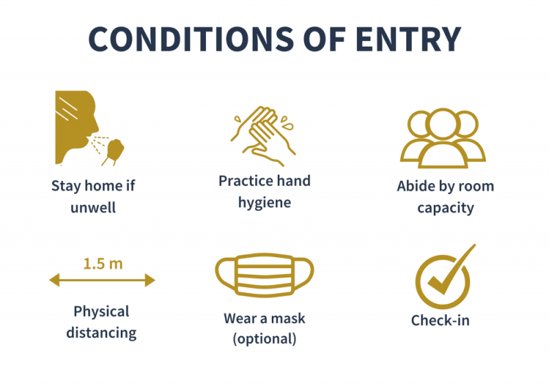 COVID Conditions of Entry